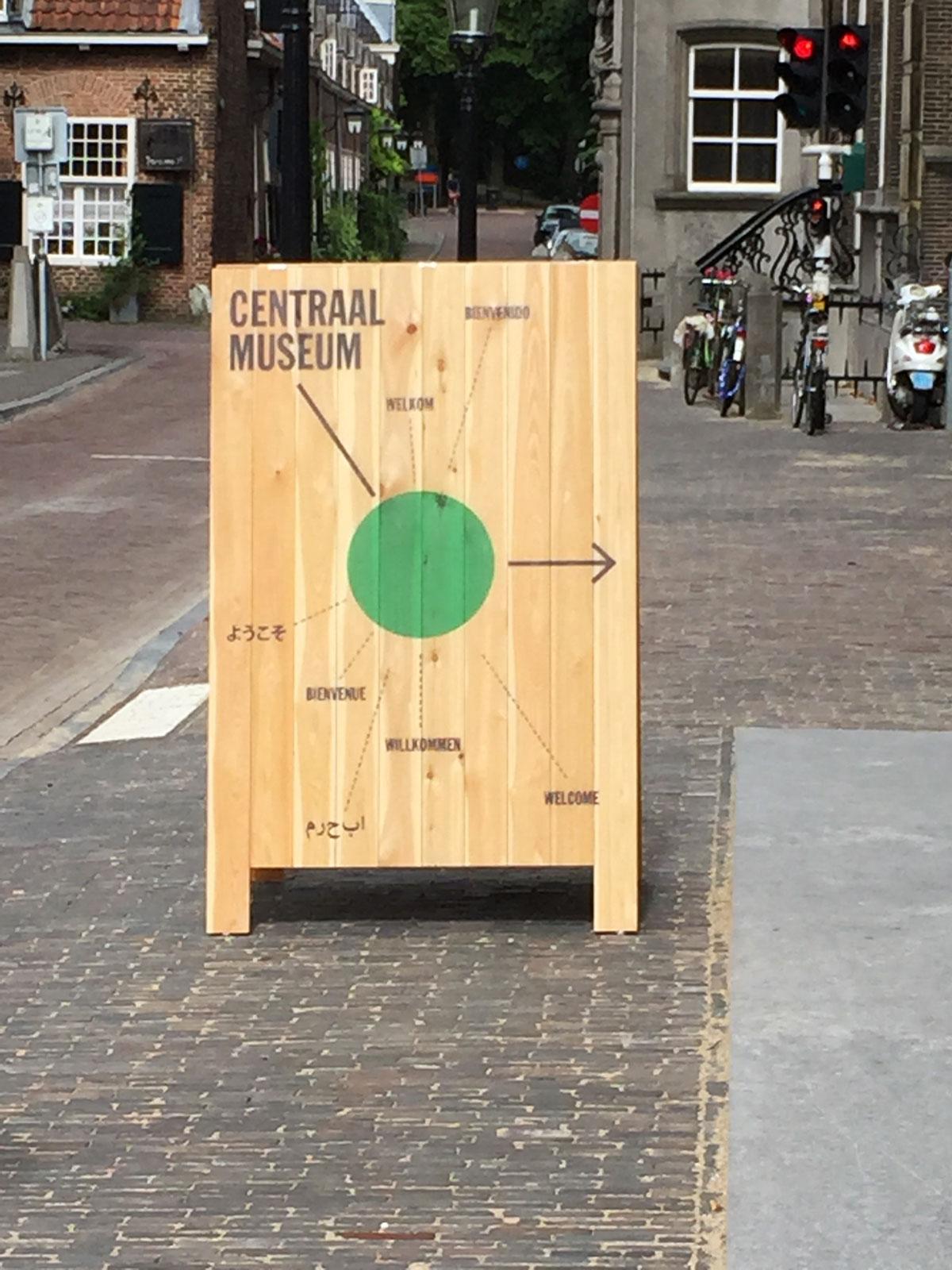 houten stoepbord bedrukt
