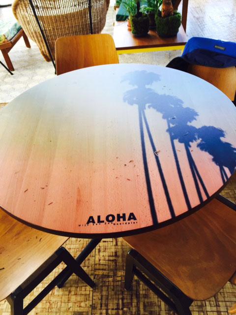 Tafelblad-Aloha