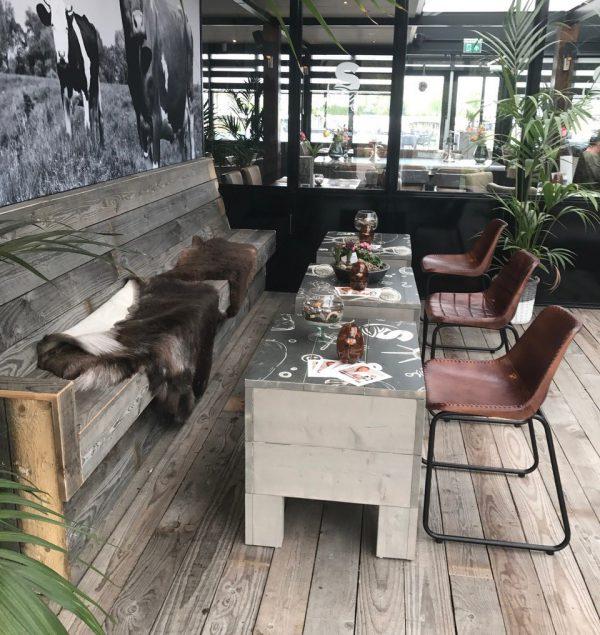 tafelbladen van hout bedrukt