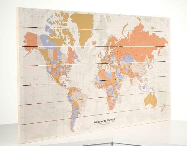 Wereldkaart-Style-op-Hout