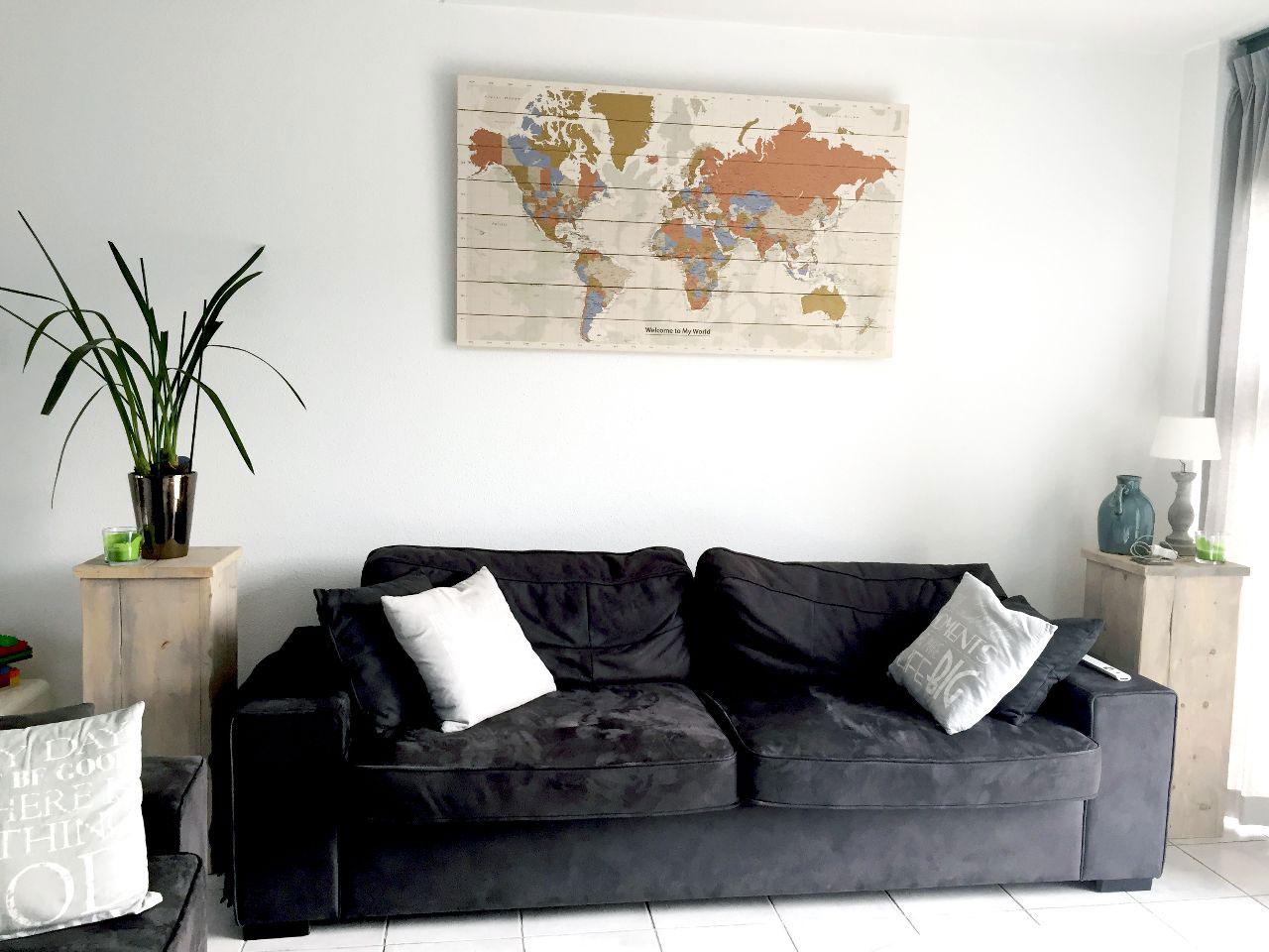 Wereldkaart-Style