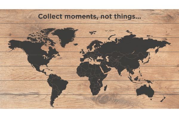 Wereldkaart Moments