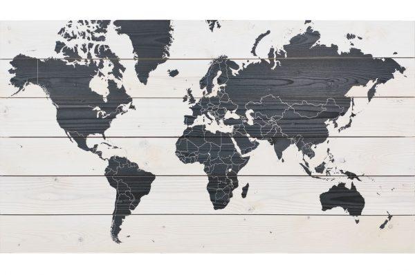Wereldkaart-Contrast-van-hout